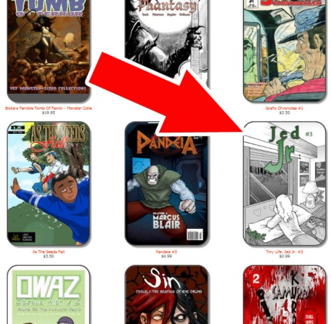 There's my book on the IndyPlanet website!  If you look around at some of the books I'm up against, you'll understand my frustration as to why my books don't sell more.